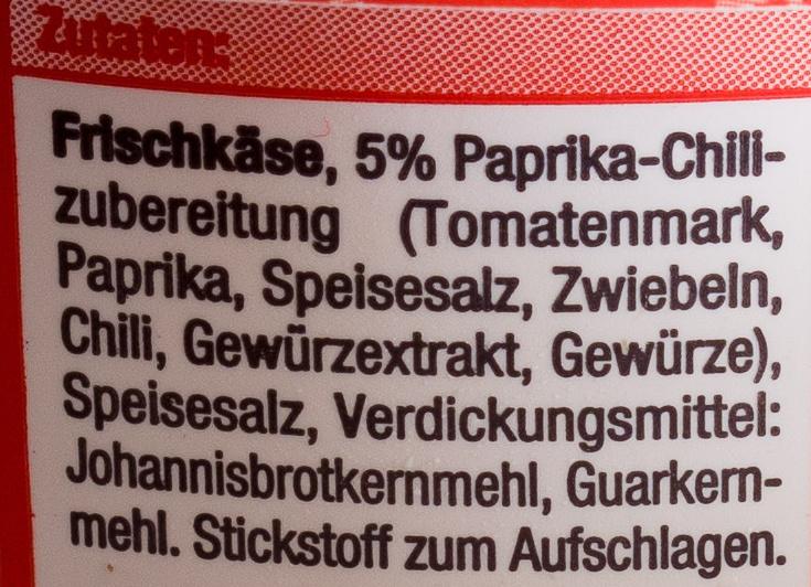 Paprika-Chili - Ingredienti - de