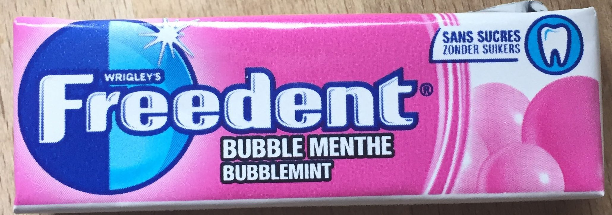 Freedent Bubble Menthe - Product