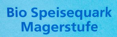 Speisequark Magerstufe - Zutaten - de