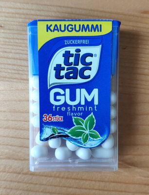 Tic tac gum - Produkt - de
