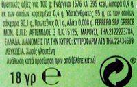 Tic Tac Apple Mix 18G - Wartości odżywcze - pl