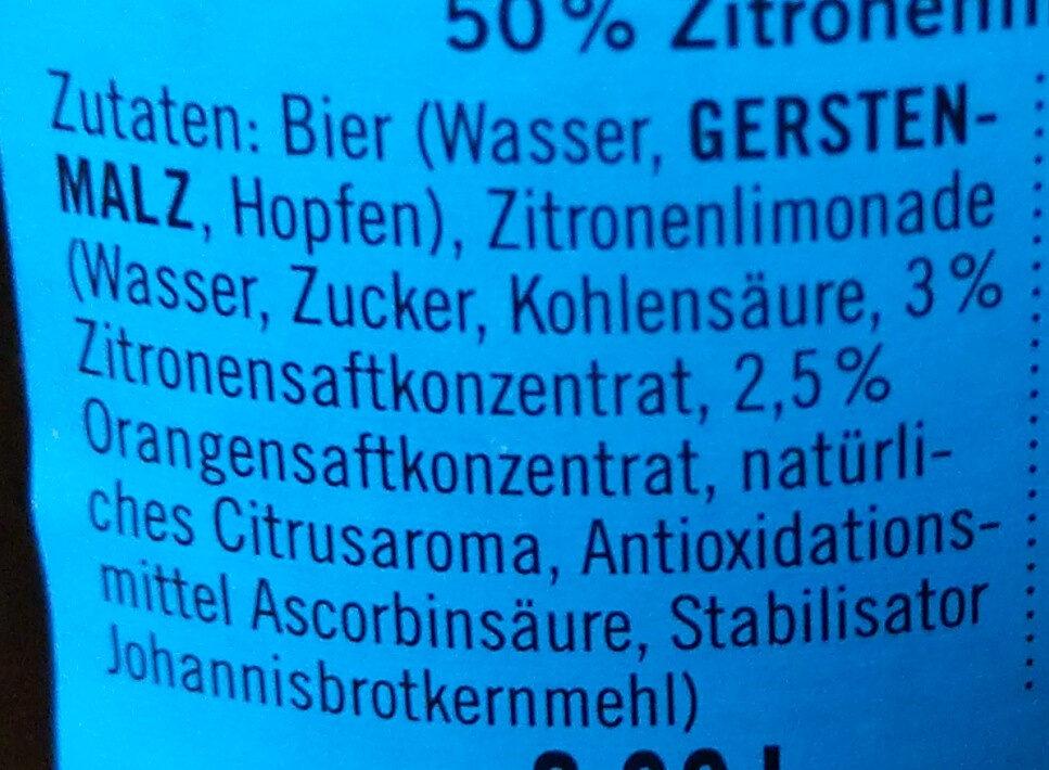 Kiezmische - Ingrediënten - de