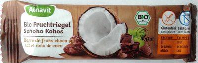 Bio Fruchtriegel Schoko Kokos - Produit - de