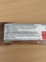 Alnavit Bio Fruchtriegel - Ingredients