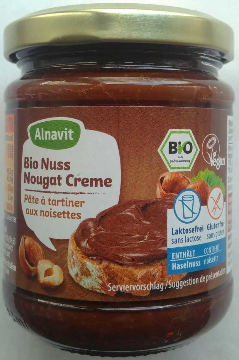 Bio Nuss Nougat Creme - Product