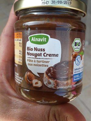 Bio Nuss Nougat Creme - Produit