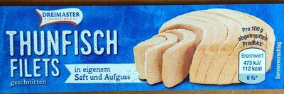 Thunfisch Filets geschnitten - Produkt - de
