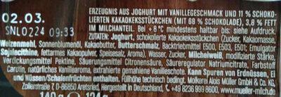 Joghurt Mit Der Ecke - Zutaten - de