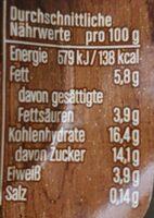 Joghurt Mit Der Ecke - Nährwertangaben - de