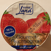 Gourmet Fruchtjoghurt Erdbeere - Produkt