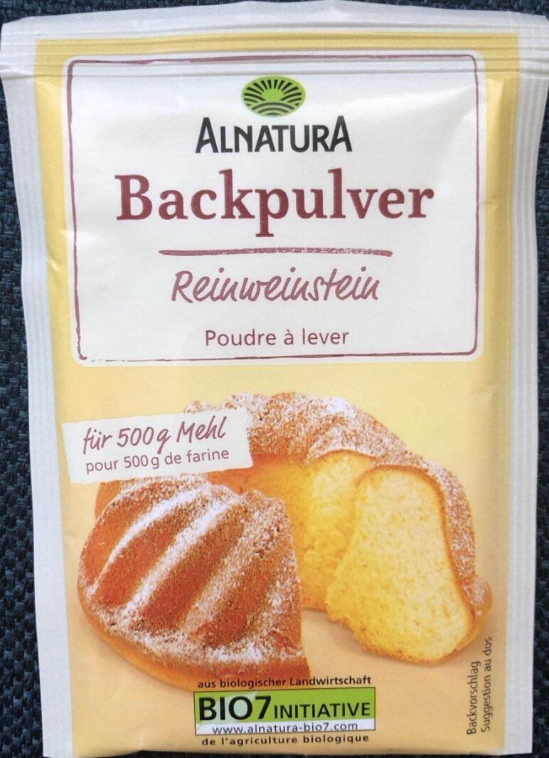 Backpulver Reinweinstein - Product