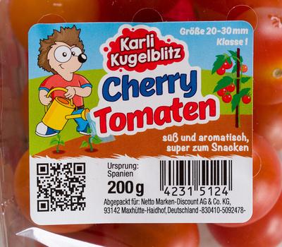 Cherry Tomaten - Produkt