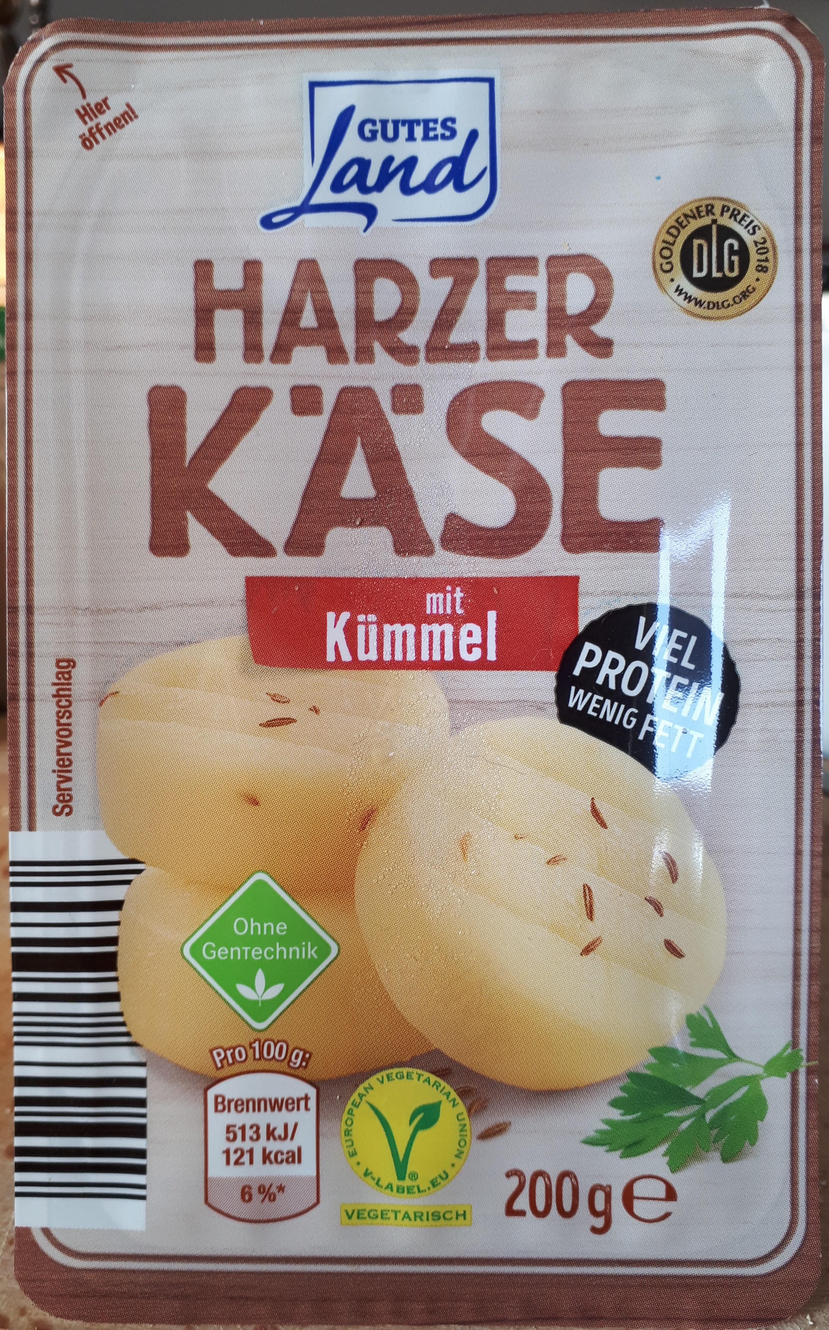 Harzer Käse mit Kümmel - Product - de