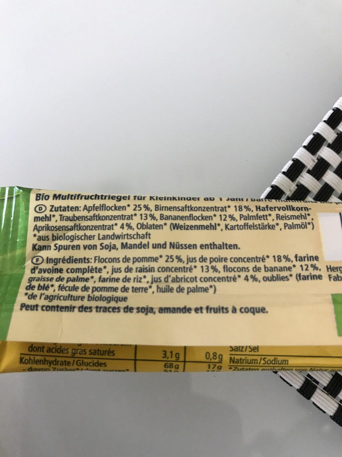 Fruchtallerlei - Ingredients