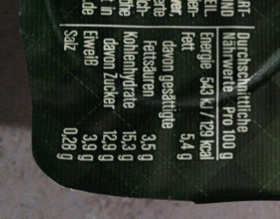 Joghurt mit der Ecke London Salted caramel - Informations nutritionnelles