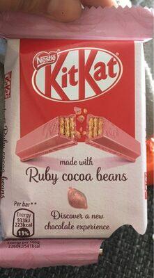 Kit kat ruby cocoa beans - Produit - fr