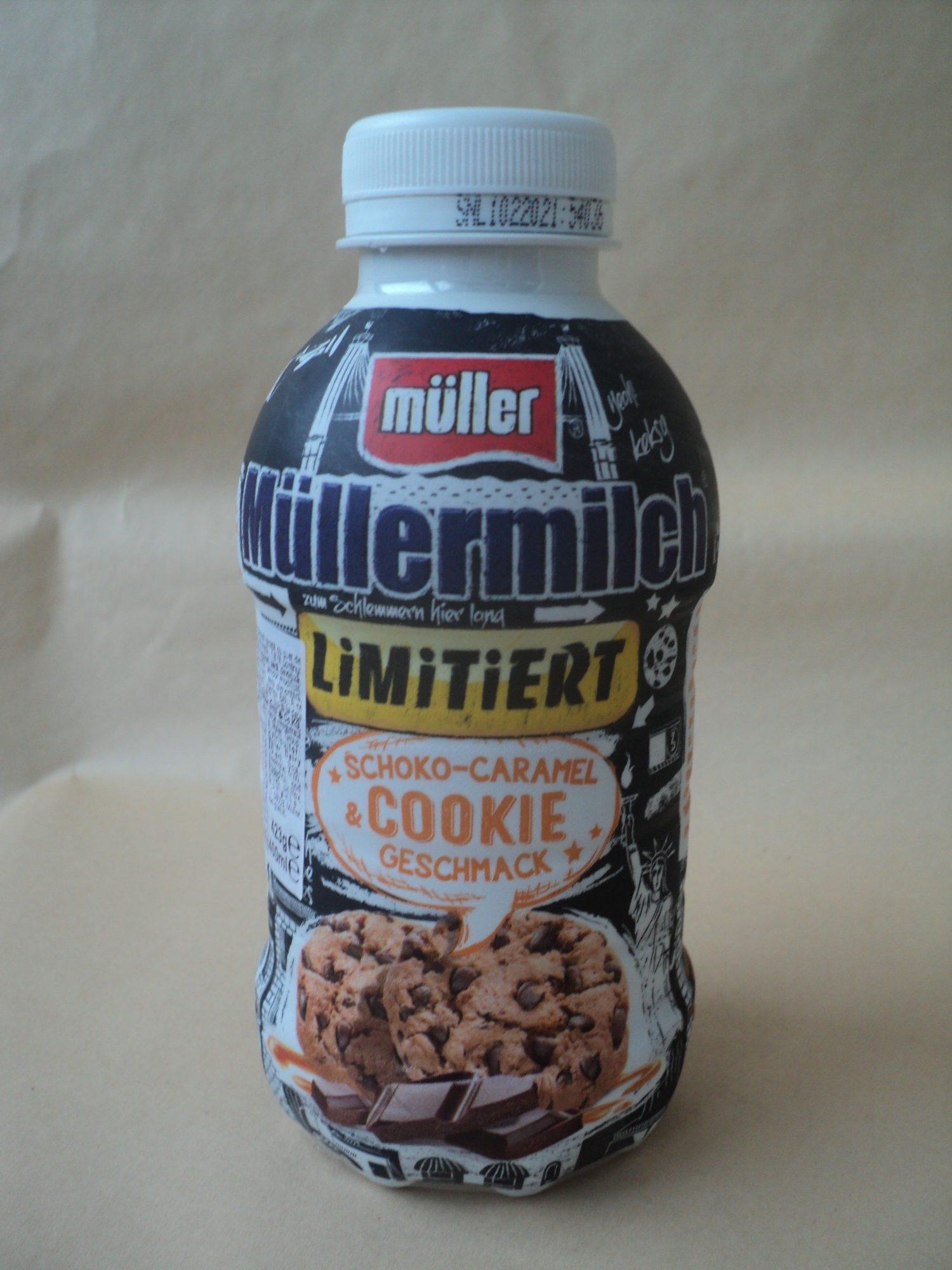 Mullermilch Bautura lactata cu gust de caramel-fursec-ciocolata - Produkt - ro