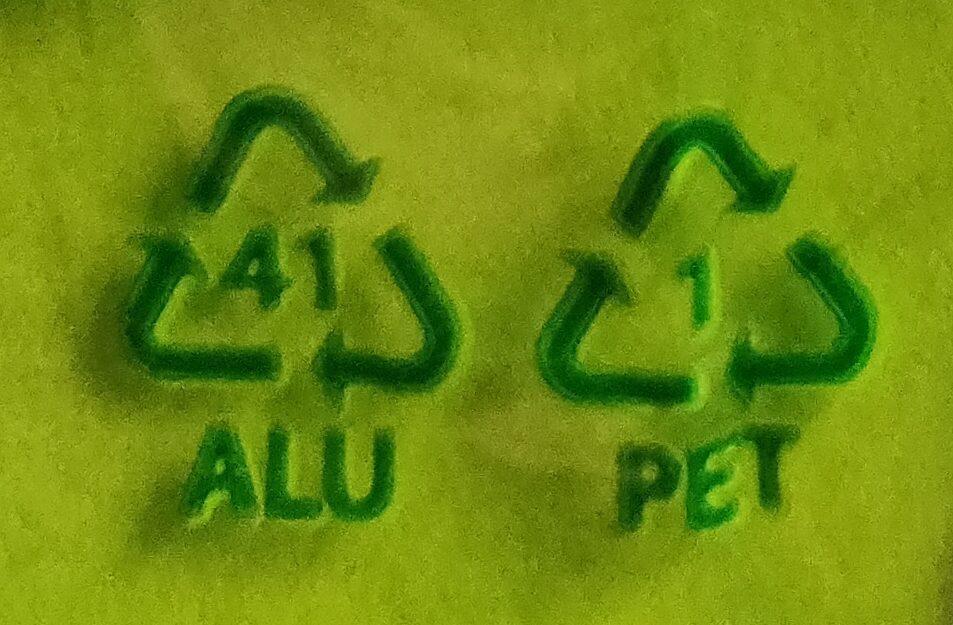 Edel Marzipan-Ei mit Nougat - Istruzioni per il riciclaggio e/o informazioni sull'imballaggio - de