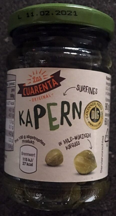 Kapern - Product
