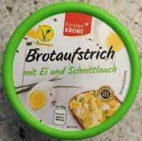 Brotaufstrich mit Ei und Schnittlauch - Produkt - de