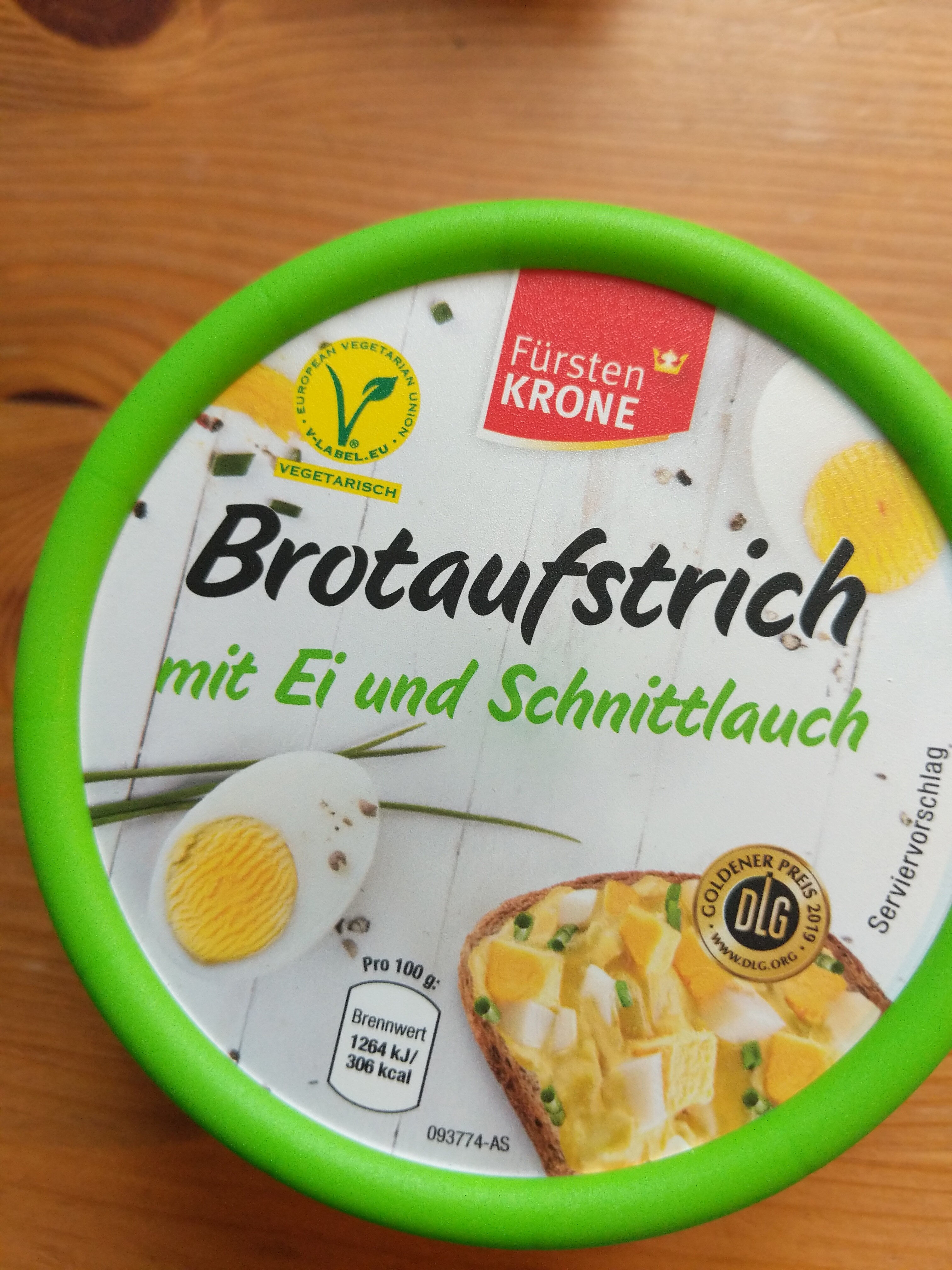Brotaufstrich mit Ei und Schnittlauch - Product - de