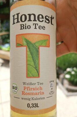 Weißer Tee Pfirsich Rosmarin - Product