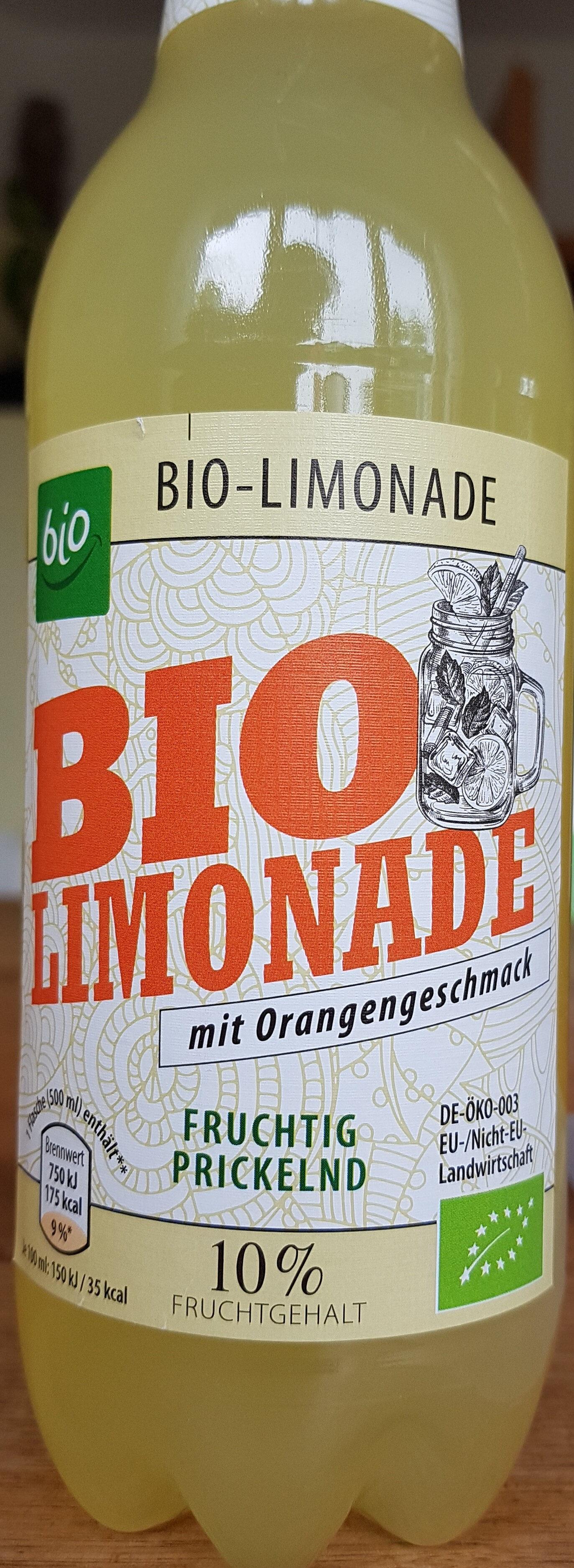 BIO Limonade mit Orangengeschmack - Product - de