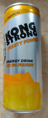Energy Drink Fruity Power Typ Tropical - Produkt