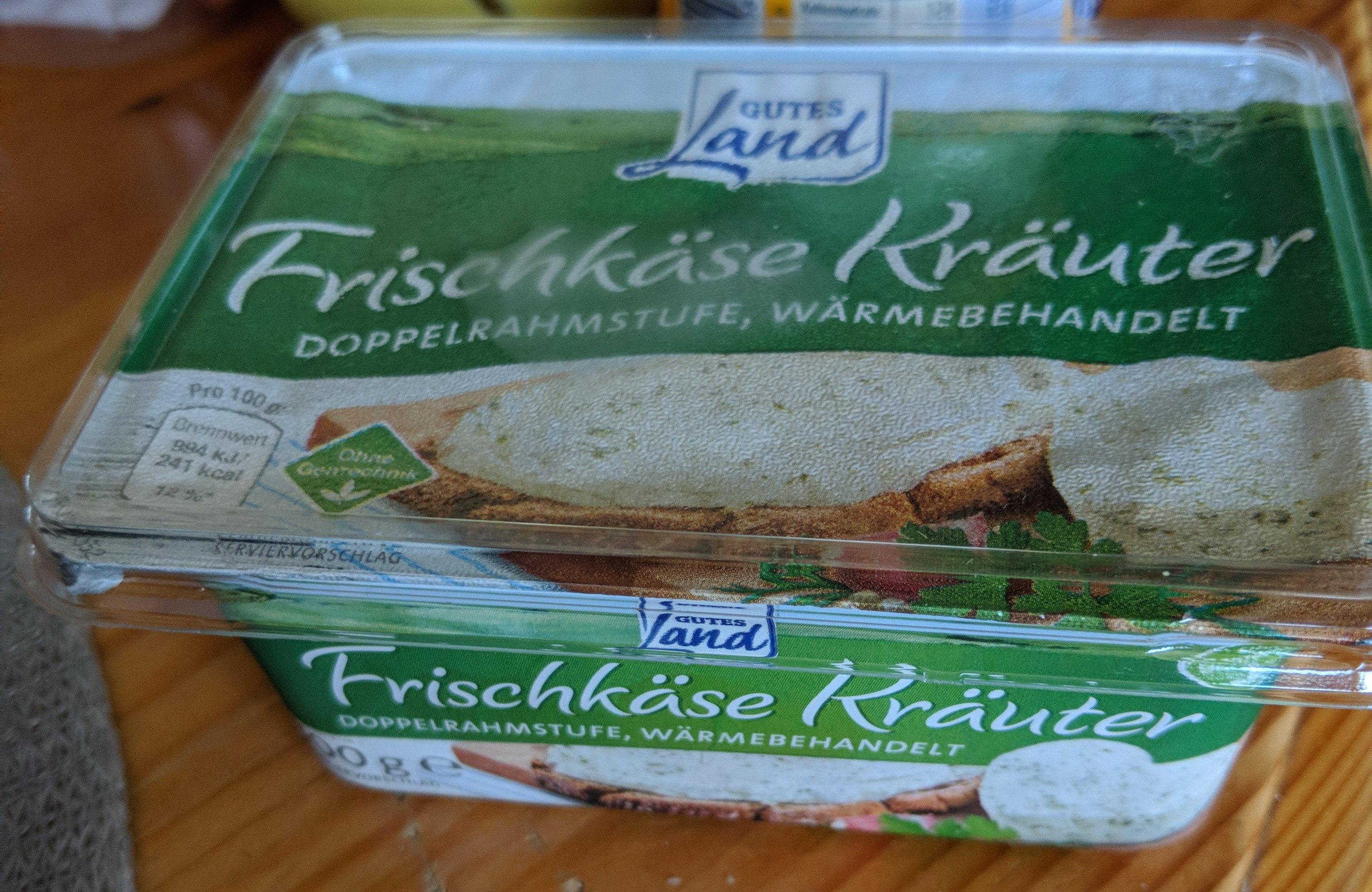 Frischkäse Kräuter - Product - de