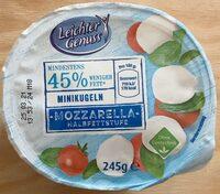 Mozarella Minikugeln - Product - de