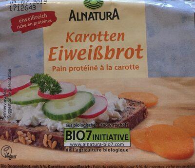 Karotten Eiweißbrot - Product