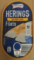 Fischbüchse Heringsfilets in Senf-Dijon-Creme - Prodotto - de