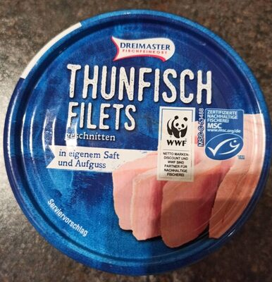 Thunfisch Filets in Saft - Product
