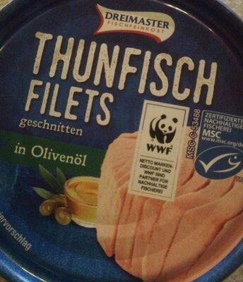 Thunfisch Filet in Olivenöl - Produkt - de