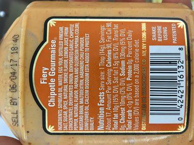 Board Head Fiery Chipotle Gourmaise - Ingredients