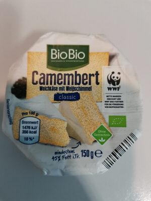 BioBio Camembert classic - Produit - de