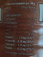 Müllermilch shake Schokolade - Nährwertangaben - de