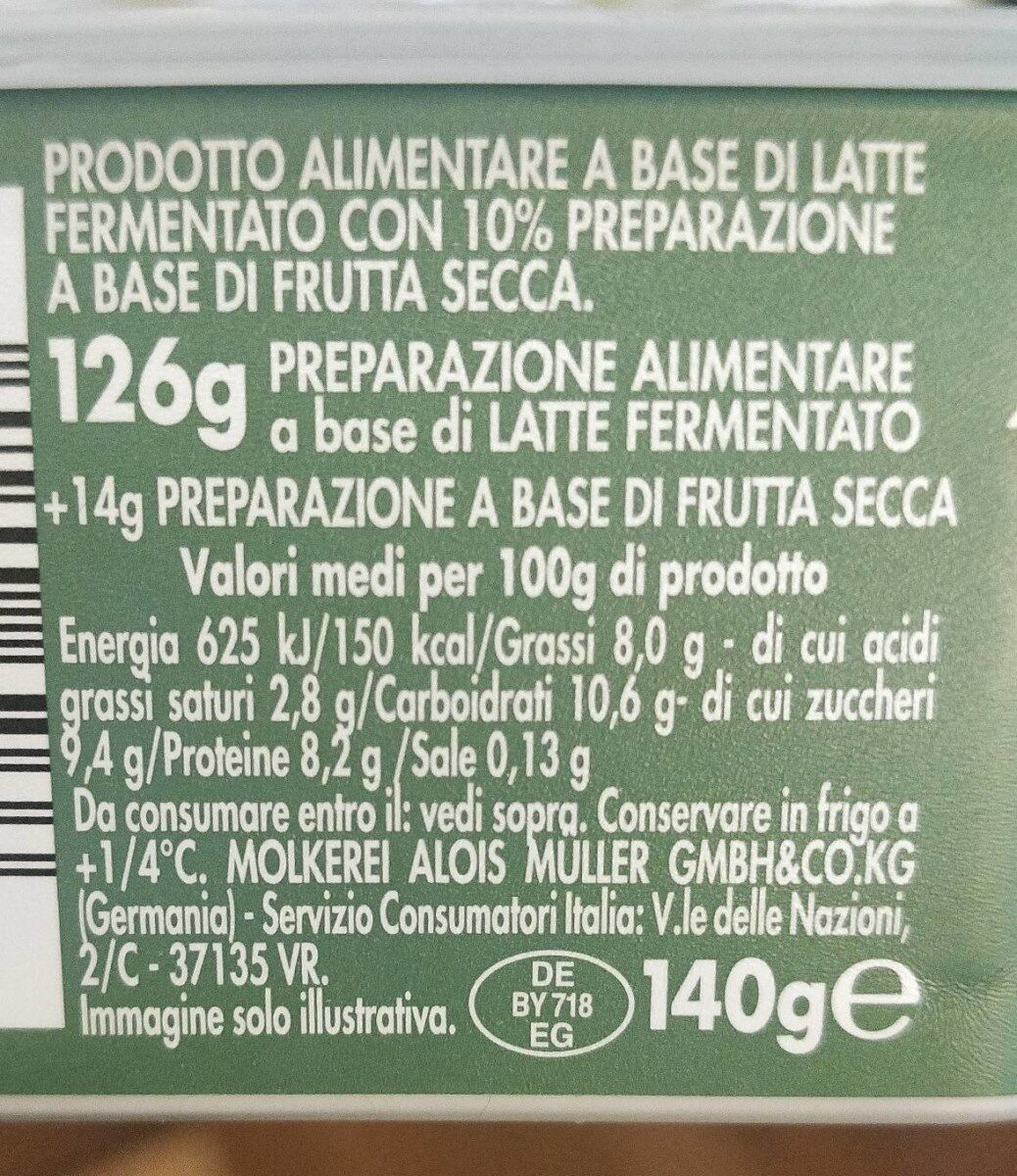 I mix good Bianco denso - Nutrition facts - it