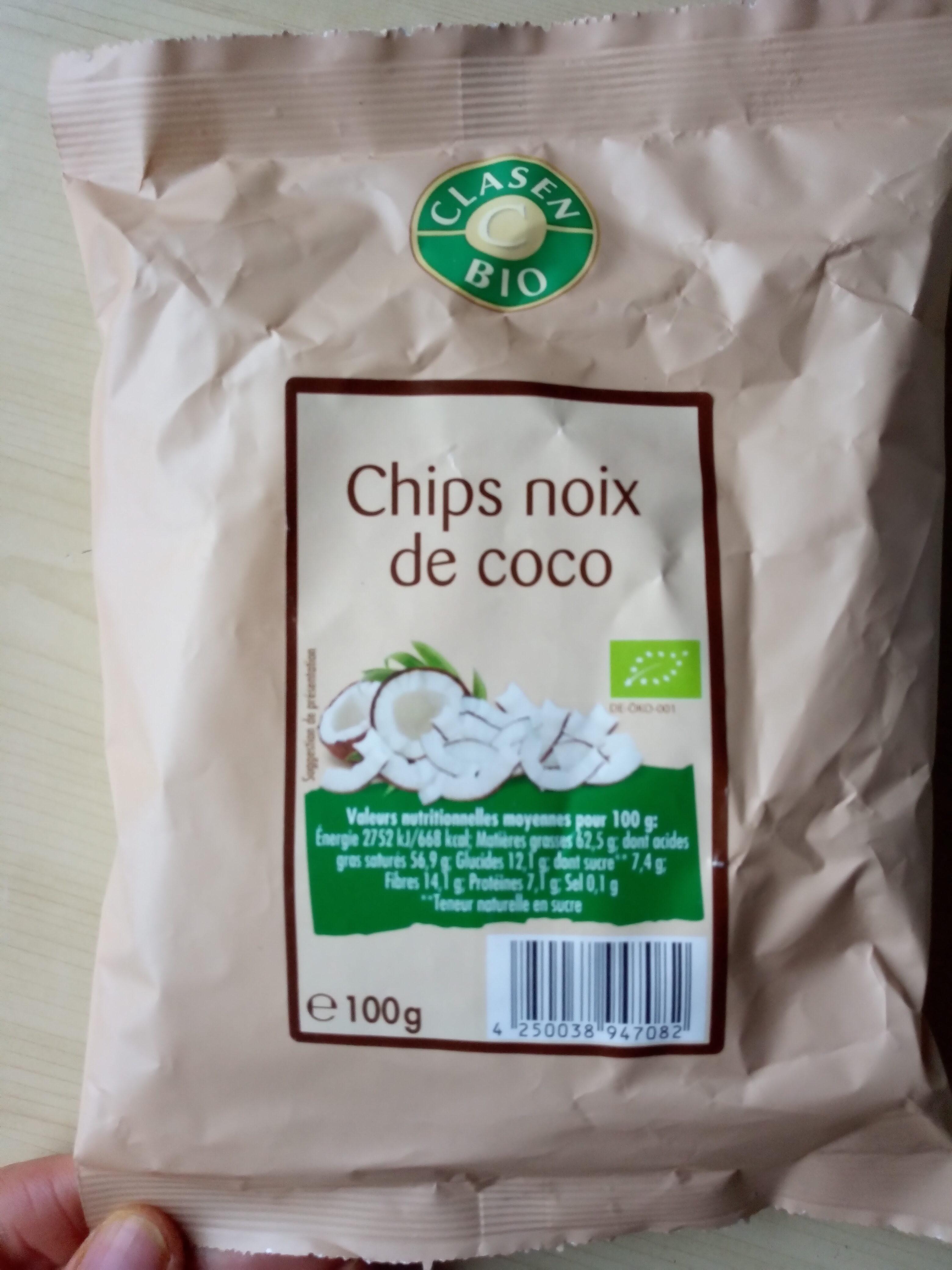 Chips noix de coco - Produit - fr