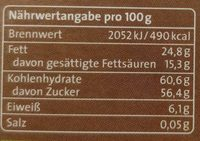 Coffee Beans - Nutrition facts - de