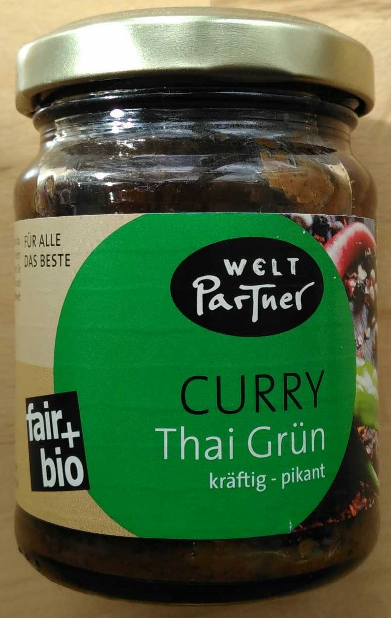Curry Thai Grün - Produit - de