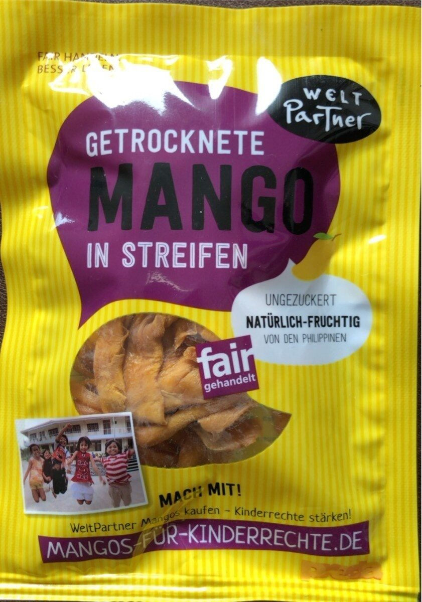 Gedrocknete Mango in Streifen - Produkt - de