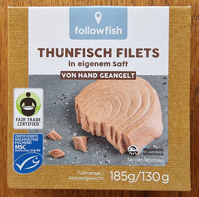 Thunfisch Filets - Produkt - de