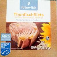 Thunfischfilets in Bio-Sonnenblumenöl - Produkt - de