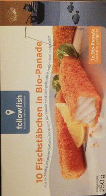 10 Fischstäbchen in Bio-Panade - Product