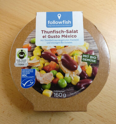 Thunfisch-Salat el Gusto México - Produit