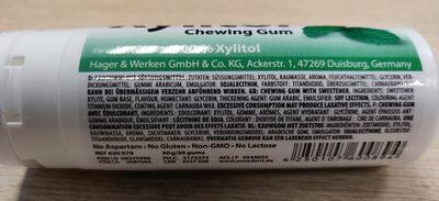Xylitol chewing gum - Ingredienti - fr