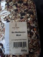 Bio Waldbeeren Müsli - Product