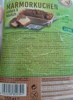 Marmorkuchen - Ingredients - en