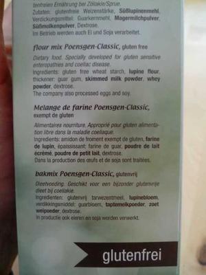Farine sans gluten poensgen - Ingredients - en